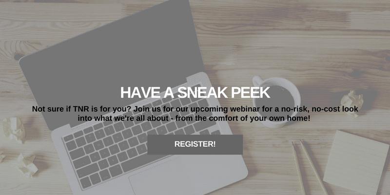 have a sneak peek slider register today