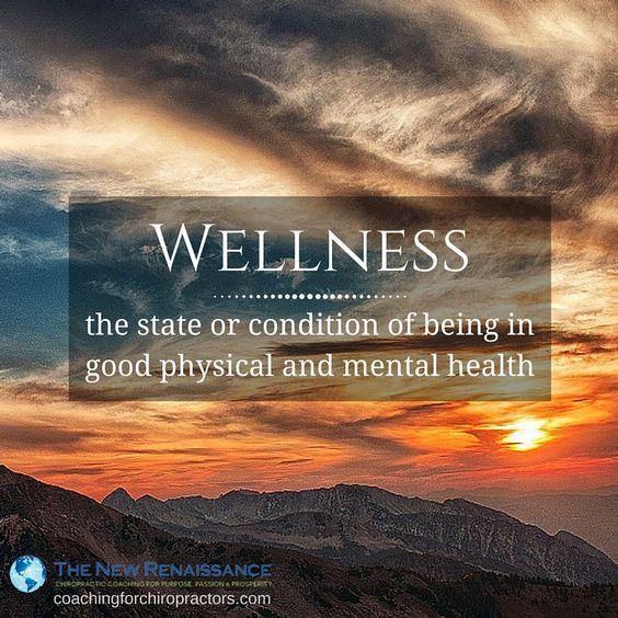 good physical mental health wellness