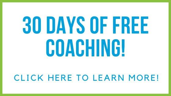 30 Days of Free Coaching